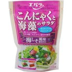 エバラ食品 X622650H エバラ こんにゃくと海藻のサラダ ノンオイル梅しそ 3-4人前