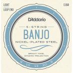 DADDARIO 0019954910822 【10個セット】D'Addario / Banjo Nickel EJ60 (J60) Light 9-20 5-Strings ダダリオ バンジョー弦