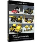DOSCH DESIGN D3D-COVE DOSCH 3D: Construction Vehicles (D3DCOVE)