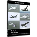 DOSCH DESIGN D3D-AIR DOSCH 3D: Airplanes (D3DAIR)
