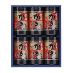 CMLF-1639435 やま磯 海苔ギフト 宮島かき醤油のり詰合せ 宮島かき醤油のり8切32枚×6本セット (CMLF1639435)
