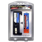 TOPLAND M186 ガム型電池+充電器セット 1400mAh