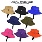 キッズ 帽子 男の子 女の子 オーシャンアンドグラウンド ナイロンHAT ウミヤマコドモ 50-56cm Ocean&Ground