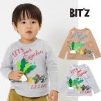 Bit'z かぶプリント 長袖Tシャツ_ビッツ_80cm-120cm_ロンT