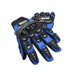 PRO-BIKER メッシュ バイクグローブ バイク アウトドア 手袋 青 XL