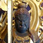 【仏像】不動明王(お不動さん・不動尊)古色仕上げ 71cm【送料無料】