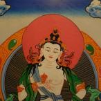【仏画(タンカ)】金剛薩た 仏像 仏画