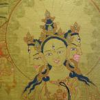 【仏画(タンカ)】仏頂尊勝母 仏像 仏画【送料無料】