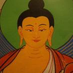 【仏画(タンカ)】釈迦如来 仏像 仏画