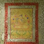 【仏画(タンカ)】毘沙門天(多聞天) 金 仏像 仏画【送料無料】