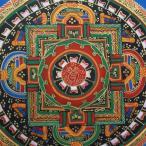 【仏画(タンカ)】シャンカ曼荼羅 仏像 仏画