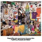 """ショッピングSuperfly Superfly 10th Anniversary Greatest Hits """"LOVE, PEACE & FIRE""""(初回限定盤 4CD)(6月30日出荷分 予約 キャンセル不可)"""