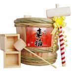 来福 ミニ樽酒セット2升(3.6L)入り
