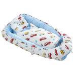 Brandream ベビーベッド 赤ちゃんベッド ベビー用布団付き 枕付き 冬用 暖かい ベッドインベッド 簡易ベッド (車 布団あり)