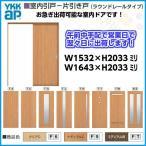即納 室内ドア 木質インテリア建材[ラフォレスタ]室内引戸-片引き戸 ラウンドレールタイプ YKKAP 建具 ドア 扉