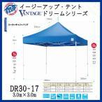 E-ZUP イージーアップ・テント VANTAGE ドリームシリーズ 防水性・防災・スチールフレーム ワンタッチ・テント 3.0m×3.0m DR30-17 <汎用型>