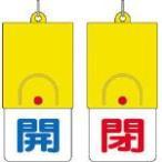 ユニット 回転式両面表示板 開 青文字 閉 赤文字 101 48