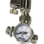 ショッピングスプレー アネスト岩田 ロータリー式手元圧力計 アネスト岩田コーティング (AJR-02L-VG) (380-7274)