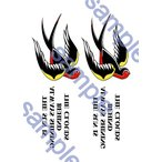GLAY/TERU 左腕タトゥーデザイン風タトゥーシール