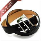 (アウトレット)ドレスベルト 日本製 本革 メンズ 姫路レザー 多脂革 サイズ調節可 TAVARAT フューバ Tps-001