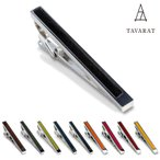 ショッピングタイ ネクタイピン タイピン 日本製 本革 10色 TAVARAT Tps-003R (ゆうパケット 送料無料)
