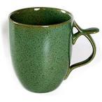 ■リンドスタイメスト■ストーンウェアーTEA■グリーン大容量マグカップ  ジャイアントマグカップ