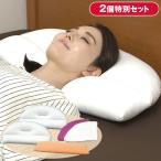 王様の夢枕 ロイヤルフィール 2個/カバー2枚+王様のロング抱き枕セット 【TBSショッピング】
