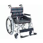 自走用スタンダードモジュール車いす SMK50-3843BY 座幅38cm Yブラウン (車椅子 軽量 折り畳み 車イス 車いす 自走用 介護 折りたたみ式 お洒落 )