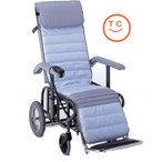 リクライニング車椅子(介助タイプ)フルリクライニング