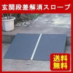 段差解消スロープ 車椅子 車いす ポータブル アルミ1枚板タイプ(60cm)