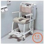 介護用品 風呂椅子 シャワーチェア TOTO水まわり用車椅子 4輪キャスタータイプ(ソフトシート仕様) 高齢者 老人 お年寄り 便利グッズ