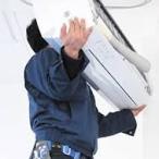 家庭用エアコン移設工事 (移設工事内容)室内機+室外機(床置き)+配管4m 【福岡限定】