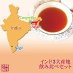 紅茶 セット:インド3大産地飲みくらべセット  茶葉 リーフ 送料無料
