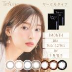 カラコン  カラーコンタクト ティアモ TeAmo 1ヶ月 マンスリー ブラウン グレー ブラック 度あり 度なし 14.0mm 14.2mm 14.5mm 石田ニコル ナチュラル