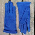 Yahoo!手袋工房藍染オーガニック コットン ショート手袋J−10