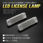 50系 エスティマ LEDライセンスランプ 前期 1回目マイナーチェンジまで ACR/GSR 50/55 車種専用設計 ナンバー灯 2個セット  RZ115