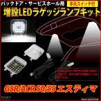 50系 エスティマ LED ラゲッジランプ 増設キット ルームランプ GSR ACR 50 55 前期/後期  RZ222