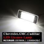 LED ライセンスランプ キャデラック エスカレード ESV EXT ATS 2015- ナンバー灯 6500K ホワイト キャンセラー付き RZ470