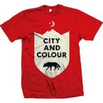 City And Colour シティ&カラー Wolf Tシャツ