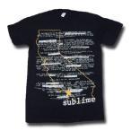 Sublime サブライム Map Tシャツ
