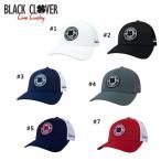 ブラッククローバー Black Clover Anniversary patch cap アニバーサリー パッチ キャップ US ゴルフ キャップ