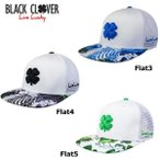Black Clover ブラッククローバー Tropical Luck Flat トロピカル ラッキー フラット メッシュキャップ  US