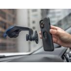 クアッドロック QUAD LOCK  9348943006453 カーマウント CAR MOUNT V4 スイベルボールで、取り付けたデバイス