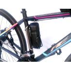 4973291842757   サギサカ CYCLE GEAR ボトルゲージ ツールバッグ カーボン調ブラック   ボトルゲージを利用して携帯するバッ