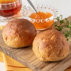 パン 糖質制限 糖質オフ ふんわりブランパン オレンジ 30個 小麦ふすま フスマ粉 ダイエット ロカボ 食事制限 置き換え 減量 ロールパン オレンジ 冷凍