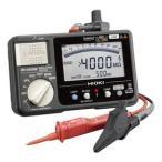 日置電機 HIOKI   IR4052-11   5レンジ絶縁抵抗計 スイッチ付リード付属 50/125/250/500/1000V 『IR405211』
