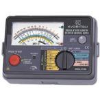 共立電気計器 MODEL6017F 『6017F』 アナログ絶縁・接地抵抗計 125V/250V/500V 精密測定コードセット付