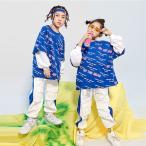 キッズダンス衣装 ヒップホップ HIPHOP セットアップ 子供 男の子 女の子 ガールズ トップス ズボン ダンスパンツ ジャズダンス 練習着 ステージ衣装 体操服