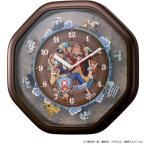 [200円割引クーポンあり] リズム時計工業 4MH880-M06 ワンピースからくり時計 (限定超特価)