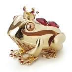 [200円割引クーポンあり]CRYSTOCRAFT カエル王子ゴールド スタンド 茶谷産業 850-404G